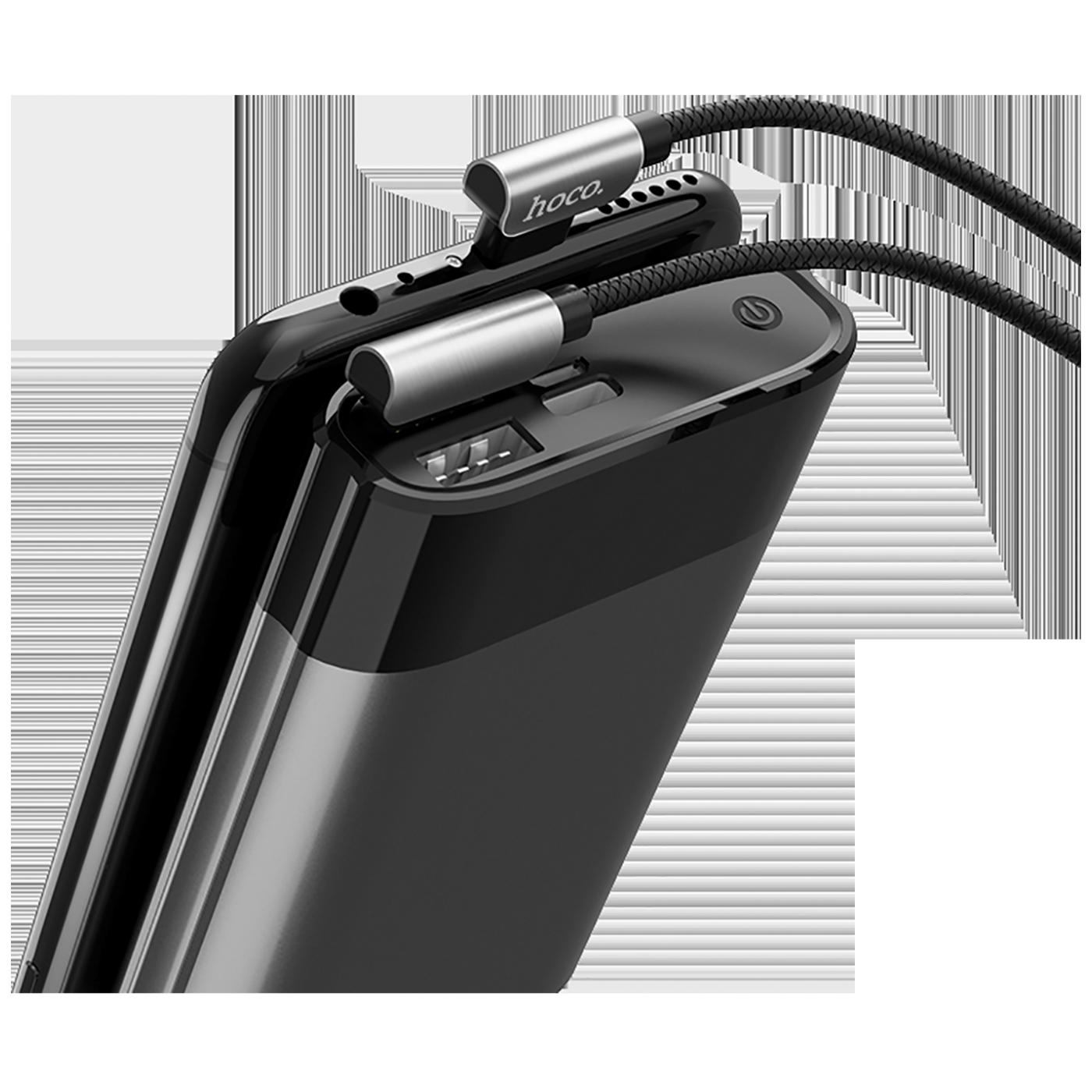 U42 Exquisite steel, Micro USB, BK