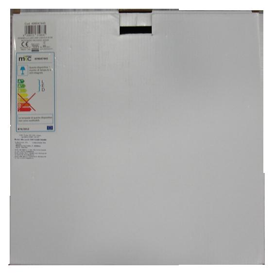 Slim panel 24W 4200K ROUND