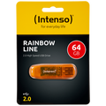 (Intenso) - USB2.0-64GB/Rainbow