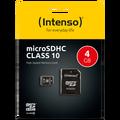(Intenso) - SDHCmicro+ad-4GB/Class10