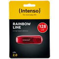 (Intenso) - USB2.0-128GB/Rainbow