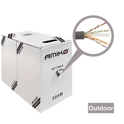Amiko - CAT5e FTP Outdoor 305m