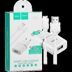 hoco. - C11 Smart single USB, micro USB