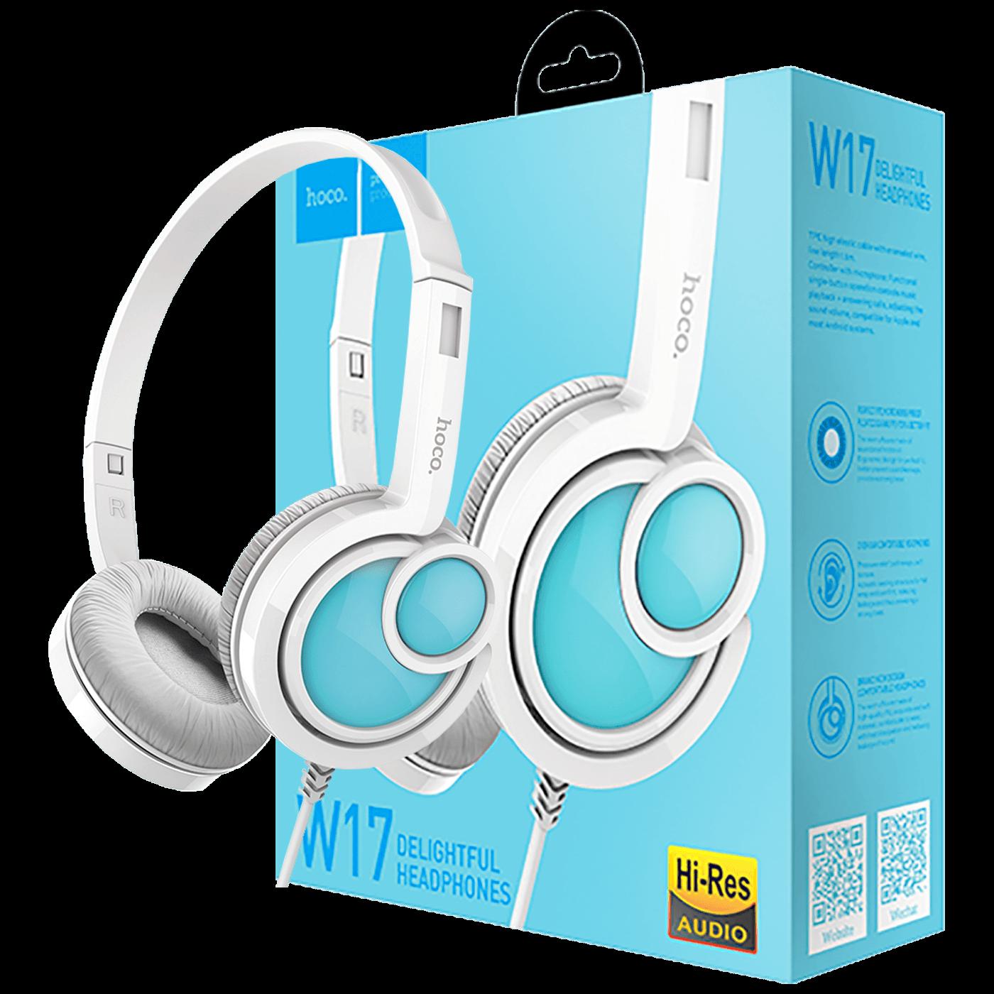 hoco. - W17 Delightful Headphones MIC WH