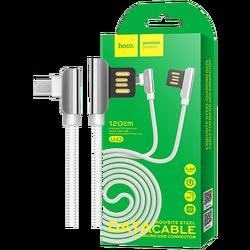hoco. - U42 Exquisite steel, Micro USB, WH