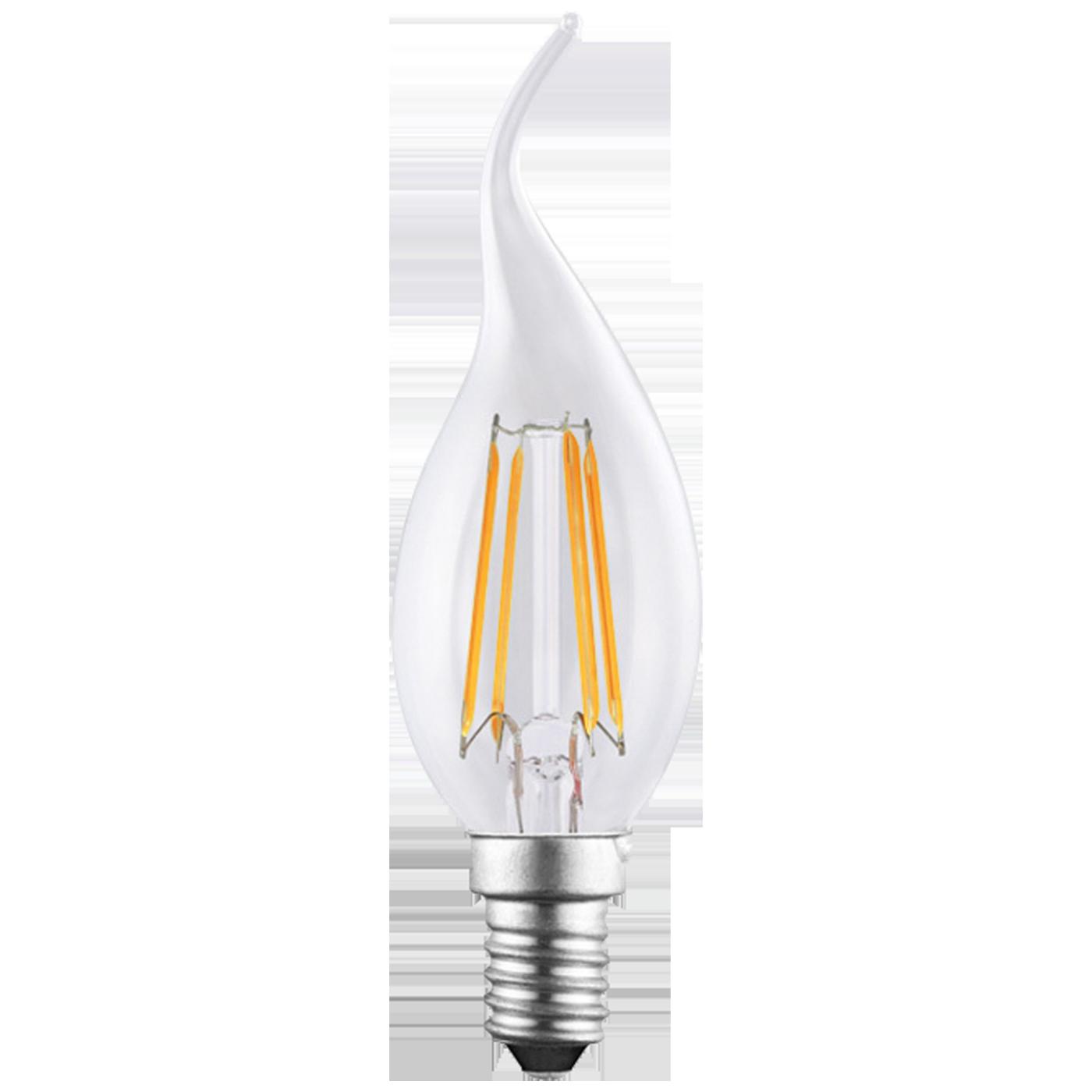 MKC - LED FIAMMA E14/4W